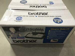 Home telephone fax machine。 used twice。 brand new. pick up only