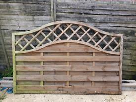 Grange St melior 3ft fence panels x 2