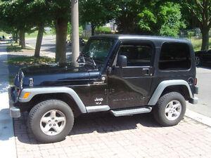 2004 Jeep TJ Sport SUV, Crossover