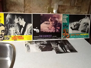 *VINTAGE* 3 LOBBY CARDS & 2 PHOTO POST CARDS