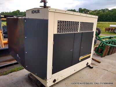 Kohler Power Systems 50 Standby Generator 55kw John Deere Diesel 4.5l 1114hrs
