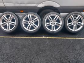 """Audi A7 A6 Alloy Wheels 19"""" 5x112"""