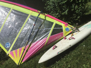 Fanatic BAT Windsurfer with Complete Rig