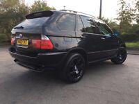 2003 BMW X5 Sport Auto Black - LPG & 3.0 Petrol