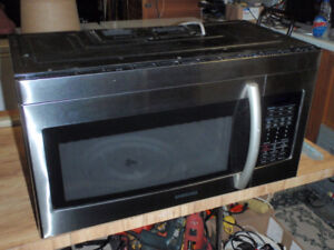 Four-Hotte Micro-ondes inoxydable Stainless steel microwave