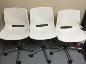 3 adjustable chairs