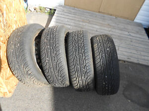 FOR SALE -- TIRES AND RIMS
