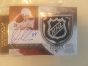 Shane Doan/Peter Mueller  dual the cup auto/nhl shield 1 of 1