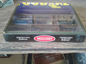 Mallory Battery Cabinet Display