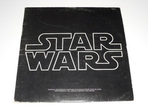 "12"" vinyl record Star Wars Soundtrack Double LP 2209-541 1977"