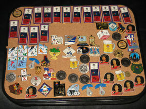 BLOW-OUT Pin SALE - Olympic Pins Hockey Baseball Instant Collect