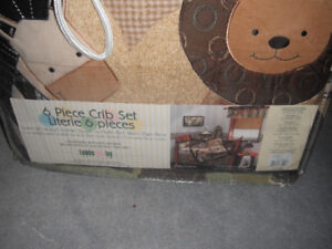 Lambs & Ivy - 6 Piece Crib Set (or Best Offer)