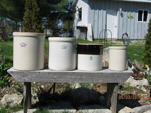 5 Crocks - various prices or take them all for one price