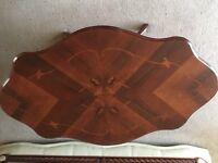 Italian inlaid coffee table