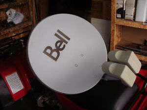 Bell Satellite system located in Edson