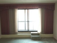 Living Room and Bedroom sheers and curtains