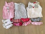 Girls 000 size winter clothes bundle Kinross Joondalup Area Preview