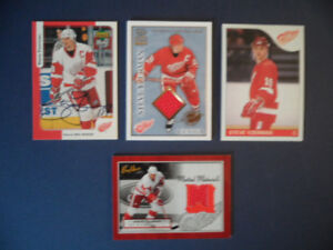 STEVE YZERMAN   4 CARD LOT