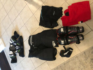 Women's hockey protective equipment