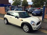 2010 '59' Mini 1.4 First WHITE WITH BLACK INTERIOR!