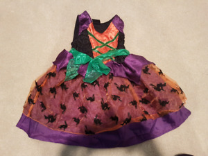 Size 2/3 Witch costume