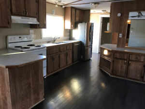 JANUARY RENT FREE - 3 bed, 2 bath mobile home Gregoire