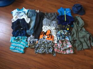 Boys clothing lot Size 6-12 mos