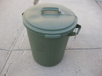 Green Refuse Container / Garbage Can