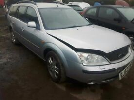 2002 FORD MONDEO GHIA 16V NOW BREAKING FOR PARTS