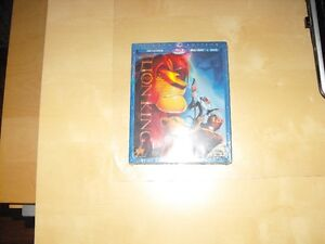 Blu-Ray DVD  Disney Le Roi Lion