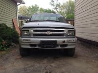 1997 Chevrolet S-10 Pickup Truck for parts