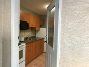 One bedroom mainfloor suite with private entrance