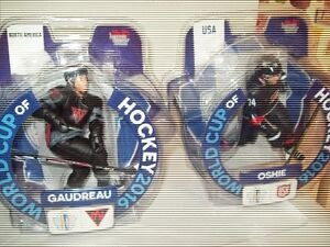 Johhny Gaudreau & TJ Oshie World Cup of Hockey Figures $10 each