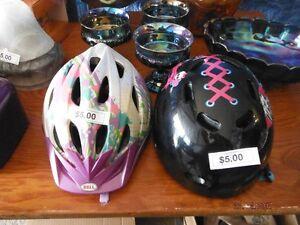 Girls bike helments
