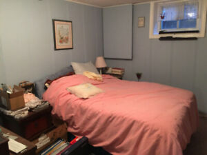 Basement apartment with one bedroom - Bayview and Major Mack