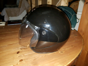 2 barely used motorcycle helmets