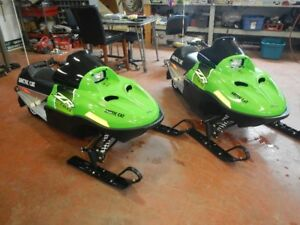 2017 Arctic Cat ZR 120 Kids sled