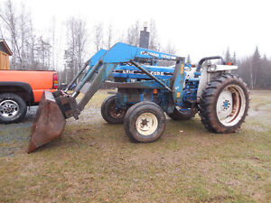 1993 Ford Tractor  6610