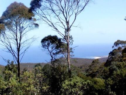 LAND FOR SALE. UNIQUE RAIN-FOREST RETREAT/OCEAN VIEWS, E/TASMANIA
