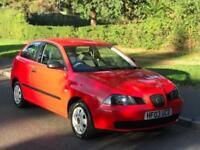 2003 SEAT IBIZA 1.2 PETROL MANUAL *LONG MOT* **44,000 GENUINE MILES** HPI CLEAR