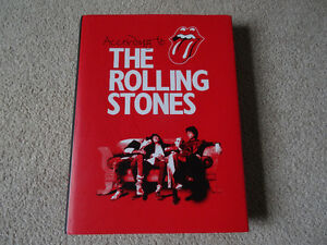 Rolling Stones : According to the Rolling Stones hardcover  book