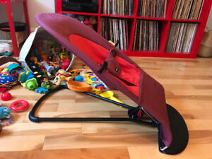 Baby Bjorn Bouncer Transat rouge, comme neuf.