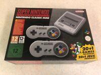 Brand New Super Nintendo SNES mini Classic Console with 21 games