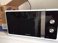 Samsung MS23F301EAK Solo Microwave, 23L - Black