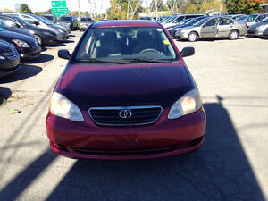 2005 Toyota Corolla safety and E tested for $4895