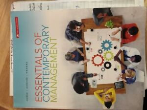 TEXTBOOK FOR SALE - MANAGEMENT PRINCIPLES