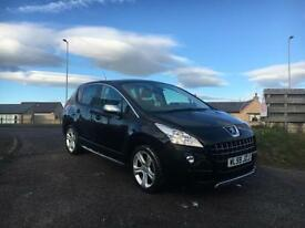 2009 59 Peugeot 3008 Exclusive, 2.0HDi 150bhp (leather, heads up display, nav)