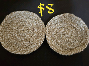 Crochet handmade coasters set