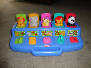 POPUP ANIMALS TOY - PLAYSCHOOL