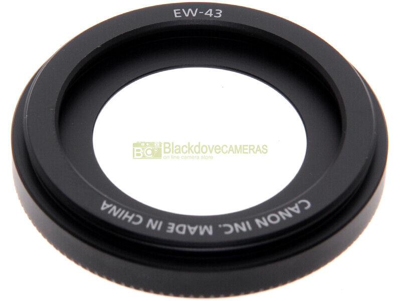 Paraluce originale EW-43 per obiettivo Canon EF-M 22 mm. STM. Lens hood